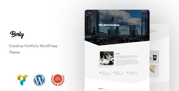 Test du thème WordPress Berly , découvrez notre avis