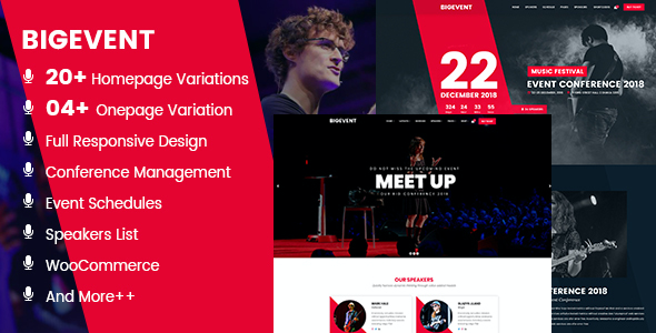 test BigEvent- Conference Event WordPress Theme