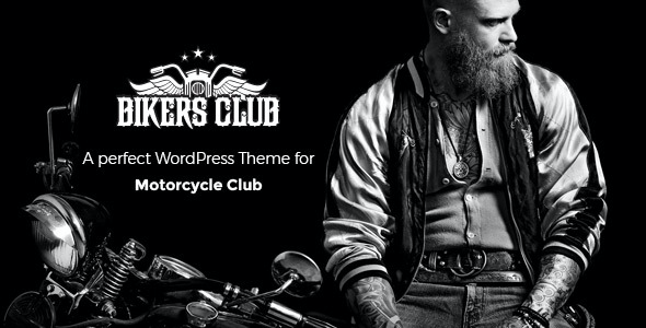 test Bikersclub - Motorcycle Responsive WordPress Theme