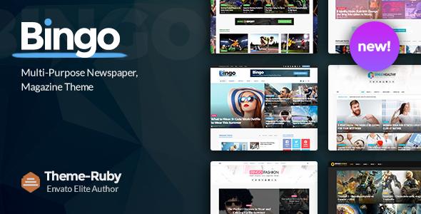 Test du thème WordPress Bingo , découvrez notre avis