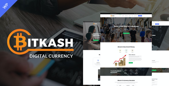 test Bitkash-Digital Currency WordPress Theme