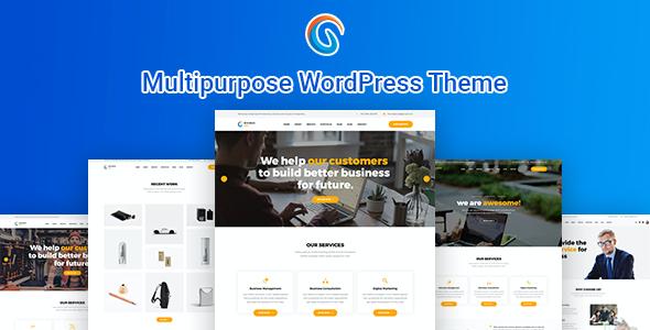 Test du thème WordPress BizCop , découvrez notre avis