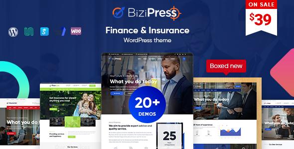 Test du thème WordPress BiziPress , découvrez notre avis