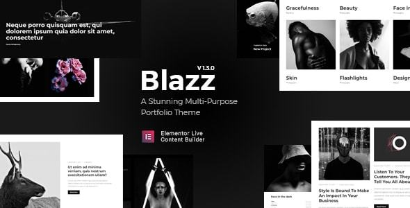 test Blazz - Creative Multi-Concept Portfolio WordPress Theme