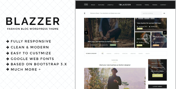test Blazzer - Personal/Fashion Blog WordPress Theme