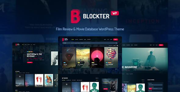 test Blockter - Movie & TV Show database WordPress Theme