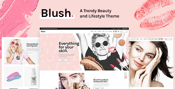 test Blush - A Trendy Beauty and Lifestyle Theme