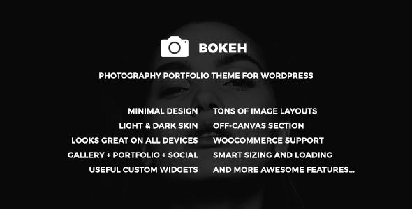 Test du thème WordPress Bokeh , découvrez notre avis