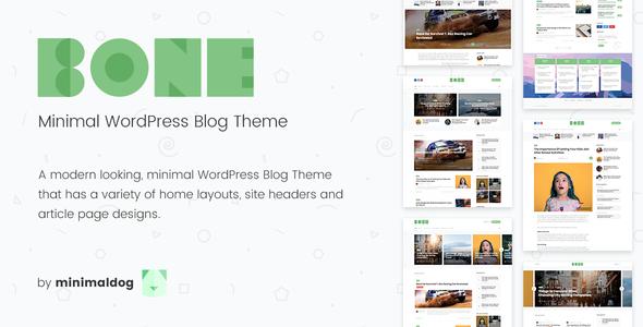 Test du thème WordPress Bone , voici notre avis