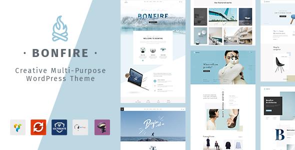 Test du thème WordPress Bonfire , voici notre avis