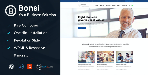 Test du thème WordPress Bonsi , voici notre avis