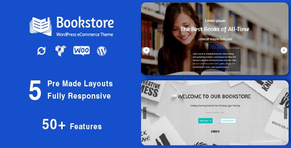 Test du thème WordPress Book Store , découvrez notre avis