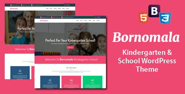 Test du thème WordPress Bornomala , découvrez notre avis