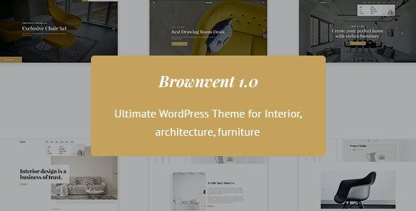 Test du thème WordPress Brownvent , découvrez notre avis