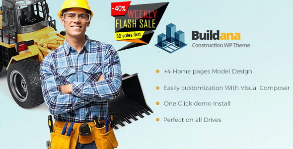test Buildana | Construction & Building WordPress Theme