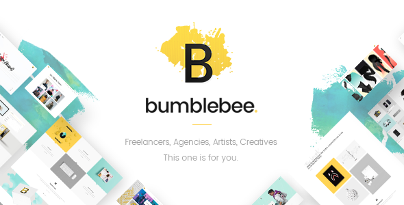 test Bumblebee - A Smart Multipurpose Theme for Freelancers and Agencies