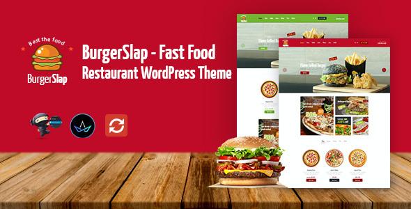 Test du thème WordPress Burger Slap , découvrez notre avis