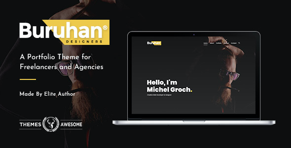 test Buruhan | A Portfolio Theme for Freelancers and Agencies