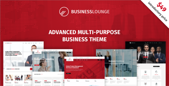 test Business Lounge | Multi-Purpose Business & Consulting Theme