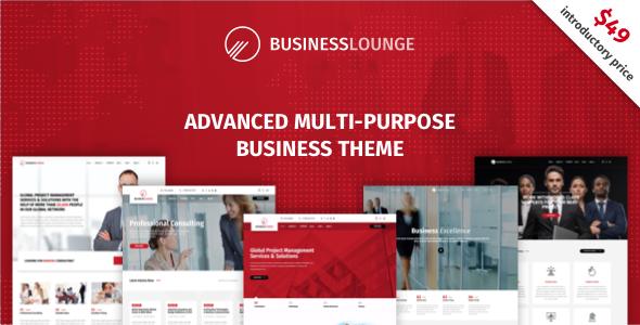 Test du thème WordPress Business Lounge , découvrez notre avis