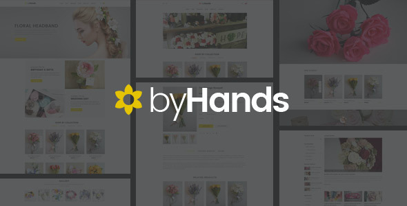 test ByHands - Flower Store WooCommerce Theme