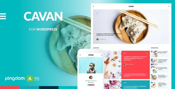Test du thème WordPress CAVAN , voici notre avis