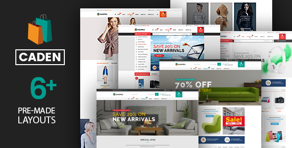 test Caden - Mega Store Responsive WordPress Theme