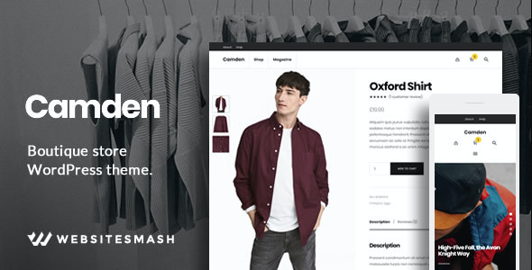 test Camden - Boutique Store WordPress Theme