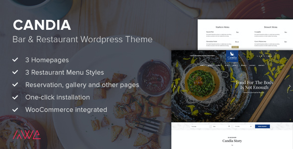 test Candia - Bar & Restaurant WordPress Theme