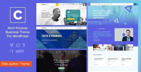 Test du thème WordPress Capital , découvrez notre avis