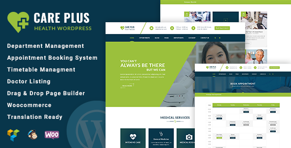 test CarePlus - Health and Care Responsive Medical WordPress Theme