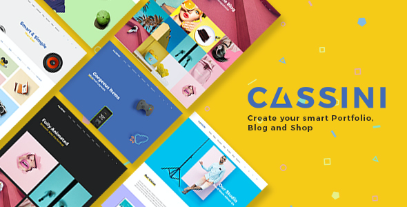 test Cassini - Portfolio and Shop WordPress Theme