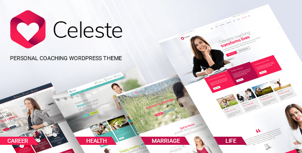 test Celeste - Life & Health Coaching WordPress Theme