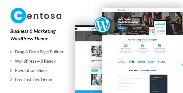 Test du thème WordPress Centosa , découvrez notre avis