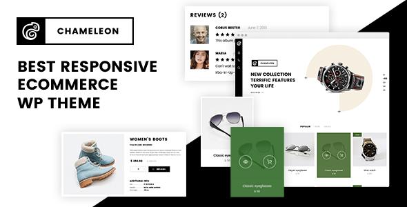 Test du thème WordPress Chameleon , voici notre avis