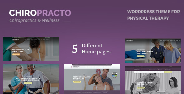 test Chiropracto - Physical Therapy WordPress Theme