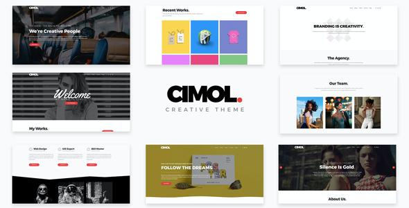 Test du thème WordPress Cimol , découvrez notre avis