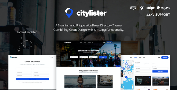 test CityLister - Local Listings & Directory WordPress Theme
