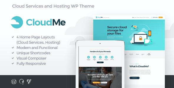 Test du thème WordPress CloudMe , découvrez notre avis