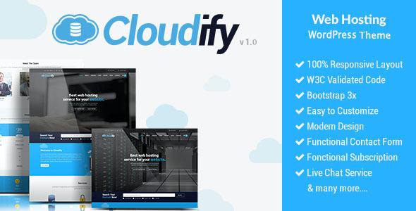 Test du thème WordPress Cloudify , voici notre avis