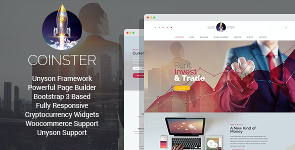 test Coinster - Mining and Cryptocurrency Exchange WordPress Theme