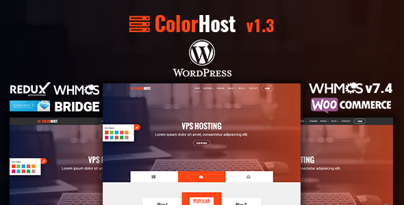 test ColorHost | Responsive Web Hosting and WHMCS WordPress Theme