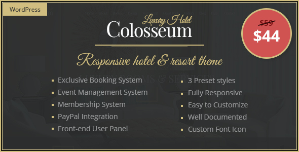 test Colosseum Hotel - Premium Hotel & Resort WordPress Theme