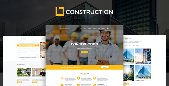 test Construction - Business & Building Company WordPress Theme