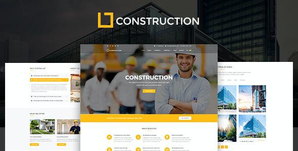 Test du thème WordPress Construction , voici notre avis