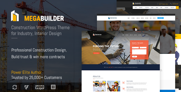 test Construction WordPress Theme for Industrial & Construction Company | MegaBuilder Construct