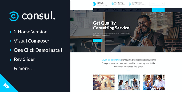 test Consul - Professional Services WordPress Theme