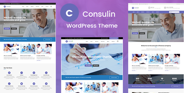 test Consulin - Consultant Finance WordPress Theme