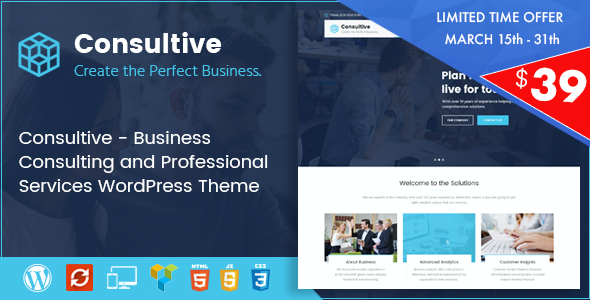 test Consultive - Business Consulting and Professional Services WordPress Theme