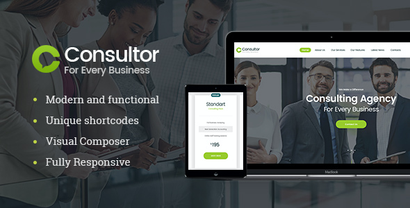 test Consultor | Business Consulting WordPress Theme